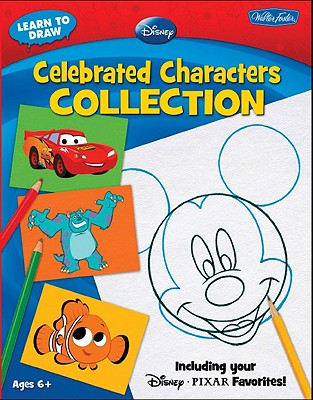 Learn to Draw Disney Celebrated Characters Collection By Walter Foster Pub. (COR)